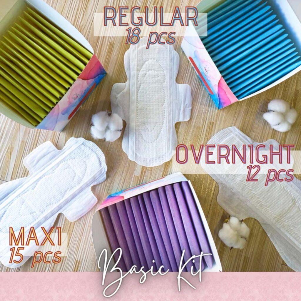 Basic Kit Regular, Maxi, Overnight